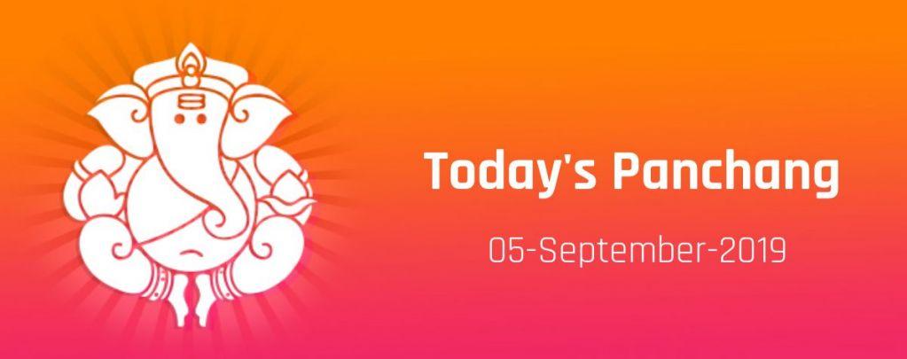 Today Panchang September 05, Thursday, rahu timings, shubh