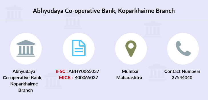 Abhyudaya-co-op-bank Koparkhairne branch