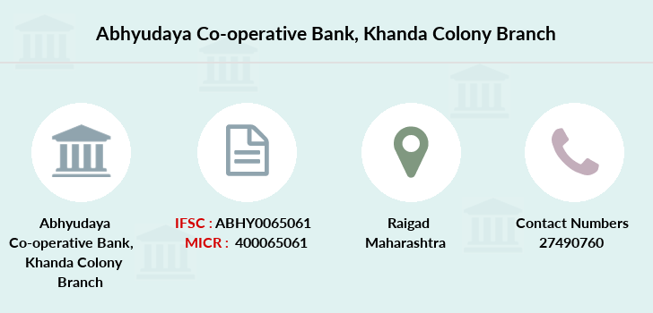 Abhyudaya-co-op-bank Khanda-colony branch