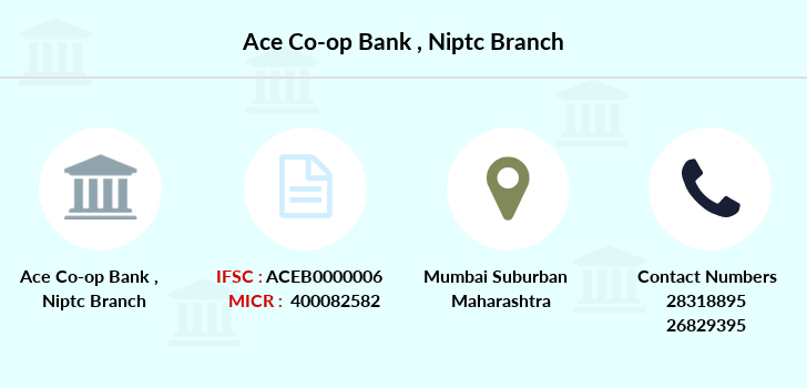 Ace-co-op-bank Niptc branch