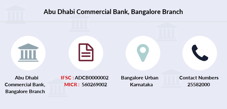 Abu-dhabi-commercial-bank Bangalore branch