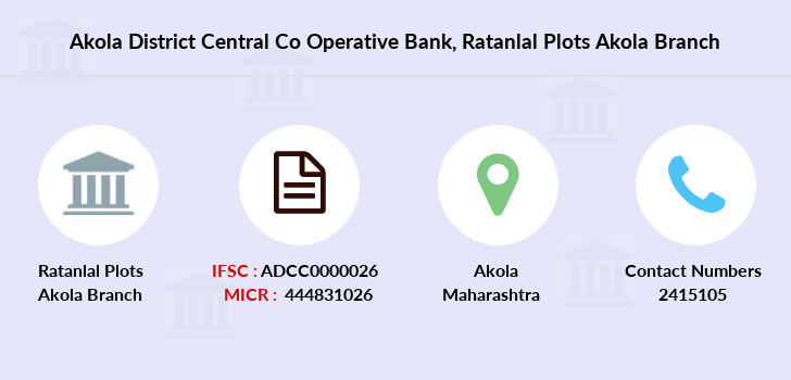 Akola-district-central-co-operative-bank Ratanlal-plots-akola branch