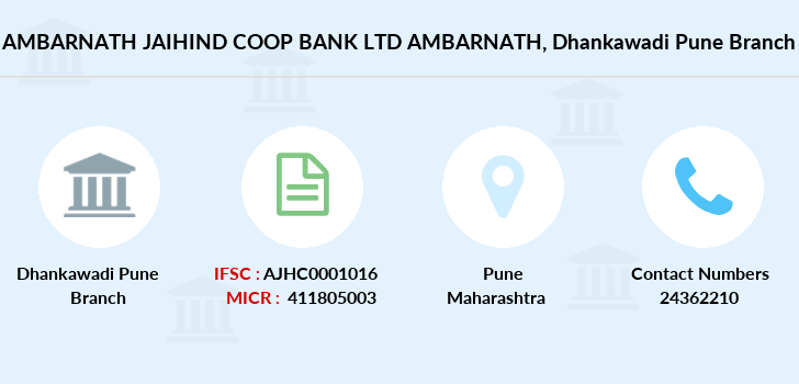 Ambarnath-jaihind-coop-bank-ltd-ambarnath Dhankawadi-pune branch