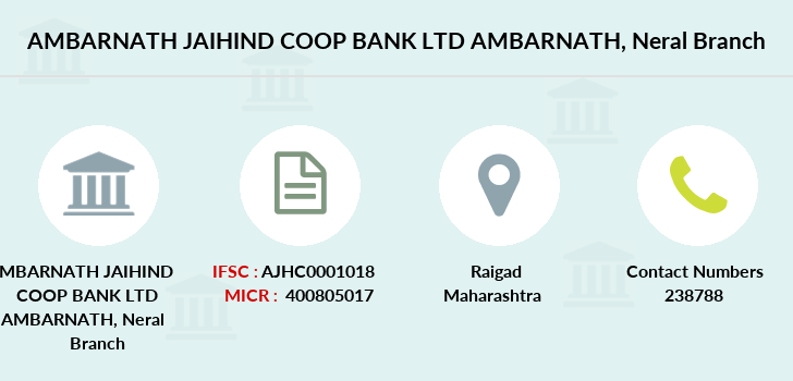 Ambarnath-jaihind-coop-bank-ltd-ambarnath Neral branch
