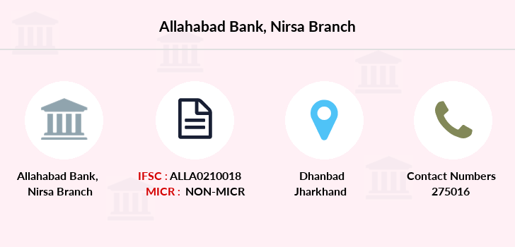Allahabad-bank Nirsa branch