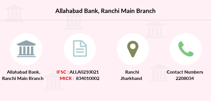 Allahabad-bank Ranchi-main branch