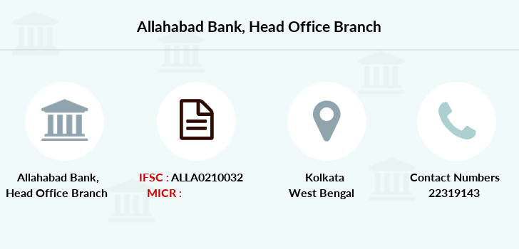 Allahabad-bank Head-office branch