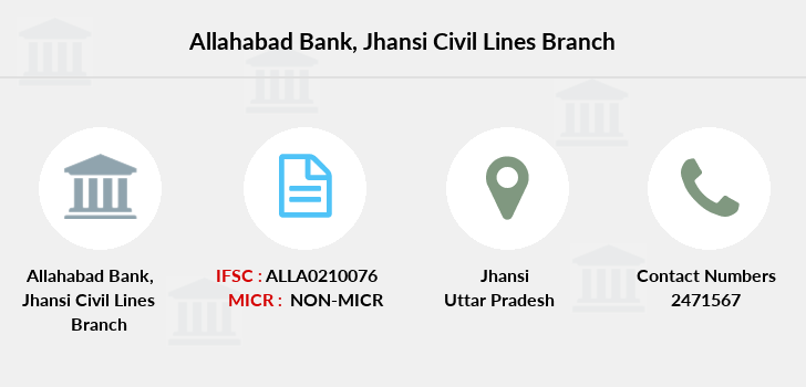 Allahabad-bank Jhansi-civil-lines branch