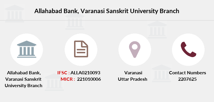 Allahabad-bank Varanasi-sanskrit-university branch
