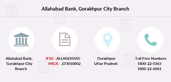 Allahabad-bank Gorakhpur-city branch