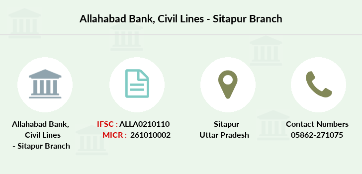 Allahabad-bank Civil-lines-sitapur branch