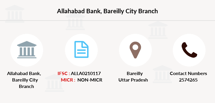 Allahabad-bank Bareilly-city branch