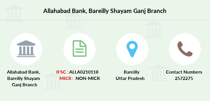 Allahabad-bank Bareilly-shayam-ganj branch