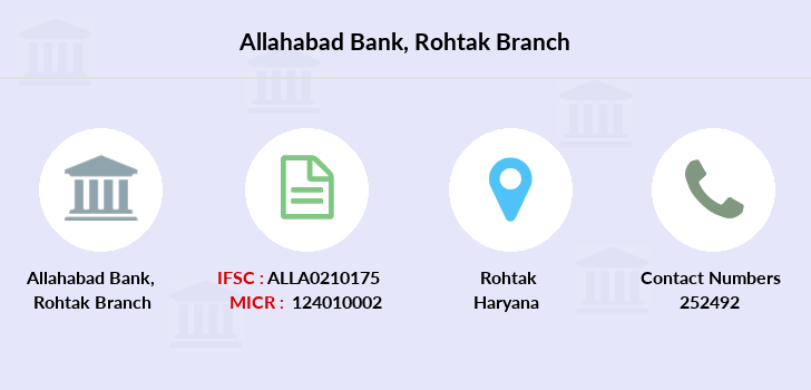 Allahabad-bank Rohtak branch