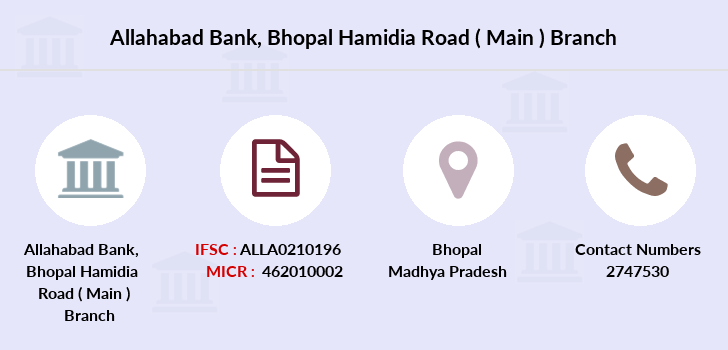 Allahabad-bank Bhopal-hamidia-road-main branch