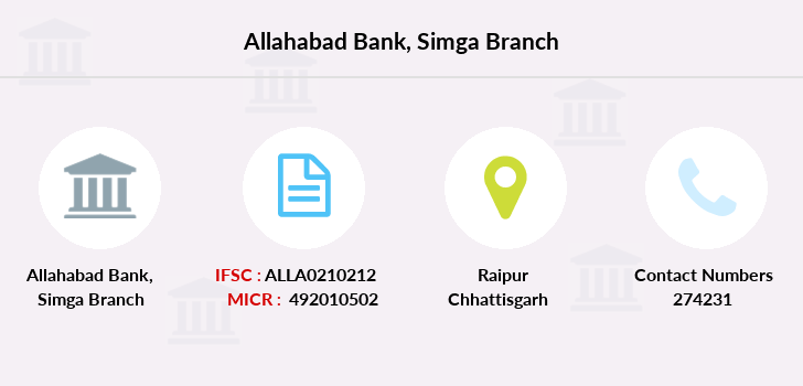 Allahabad-bank Simga branch