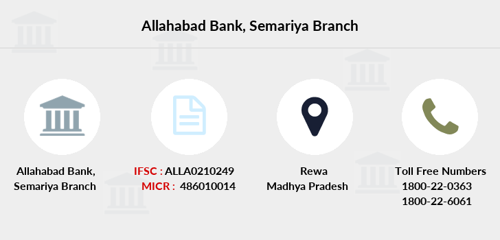 Allahabad-bank Semariya branch