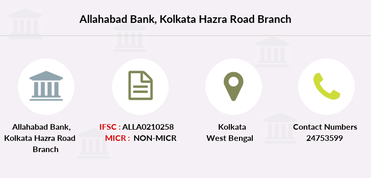 Allahabad-bank Kolkata-hazra-road branch