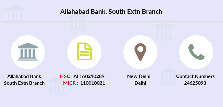 Allahabad-bank South-extn branch