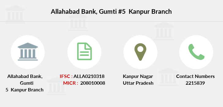 Allahabad-bank Gumti-5-kanpur branch