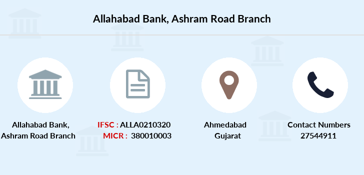 Allahabad-bank Ashram-road branch