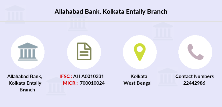 Allahabad-bank Kolkata-entally branch