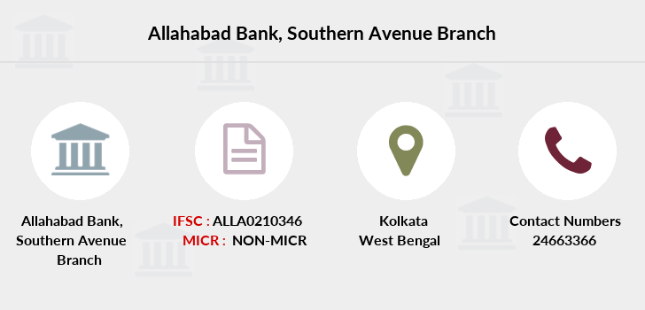 Allahabad-bank Southern-avenue branch