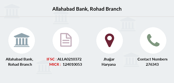 Allahabad-bank Rohad branch