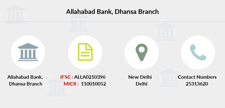 Allahabad-bank Dhansa branch