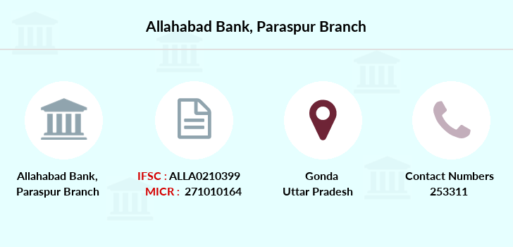 Allahabad-bank Paraspur branch