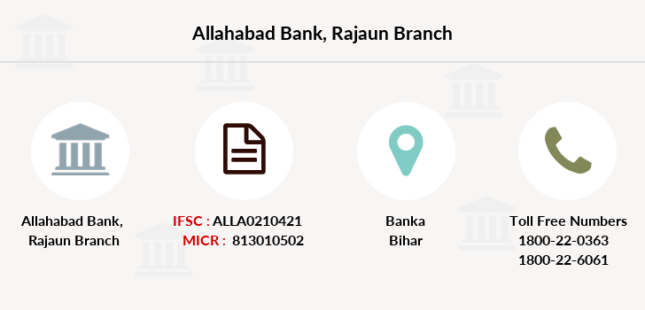 Allahabad-bank Rajaun branch