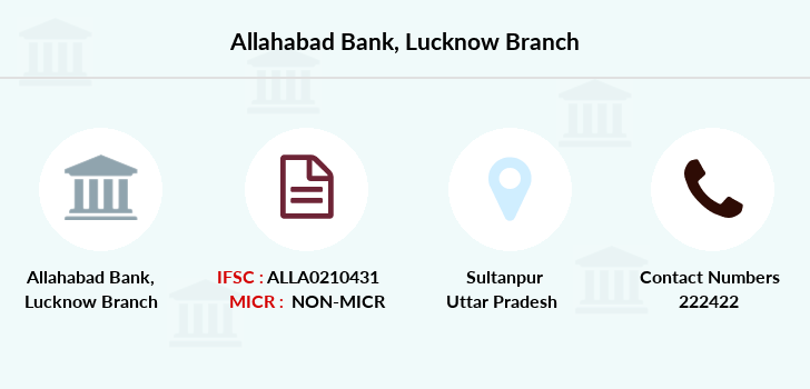 Allahabad-bank Lucknow branch