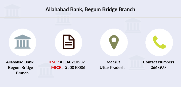 Allahabad-bank Begum-bridge branch