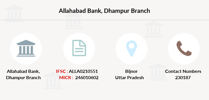 Allahabad-bank Dhampur branch