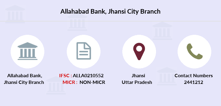 Allahabad-bank Jhansi-city branch