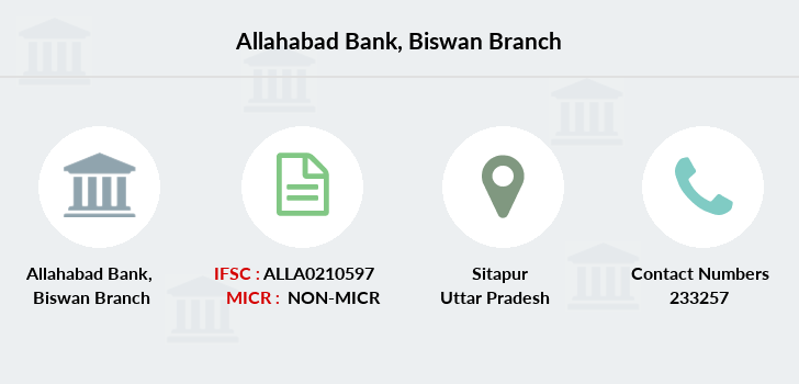 Allahabad-bank Biswan branch