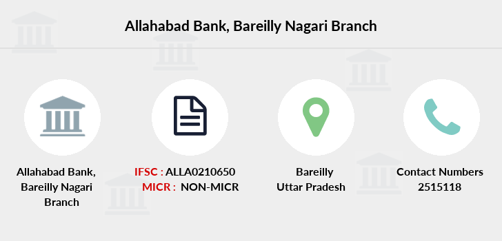 Allahabad-bank Bareilly-nagari branch