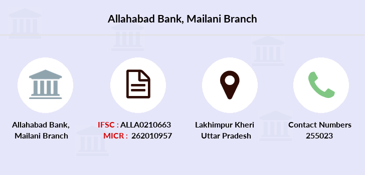 Allahabad-bank Mailani branch