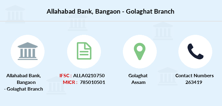 Allahabad-bank Bangaon-golaghat branch