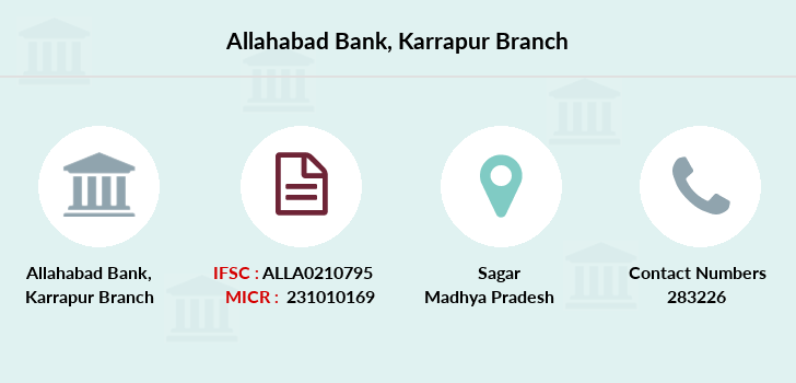 Allahabad-bank Karrapur branch
