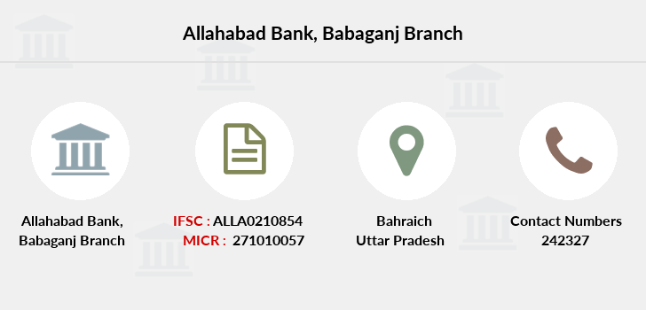 Allahabad-bank Babaganj branch