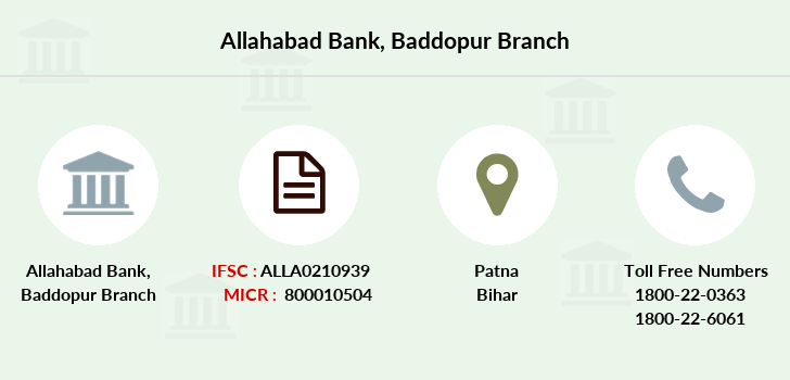 Allahabad-bank Baddopur branch