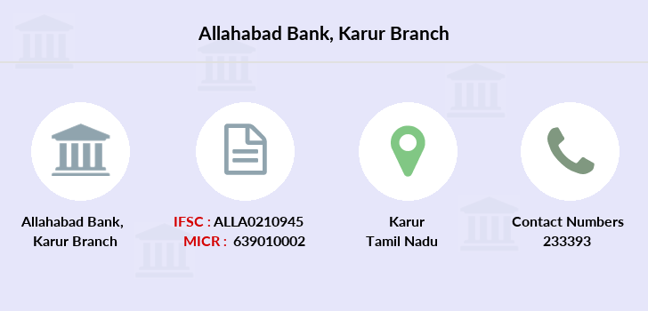 Allahabad-bank Karur branch