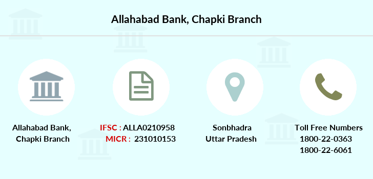Allahabad-bank Chapki branch