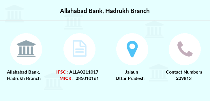 Allahabad-bank Hadrukh branch
