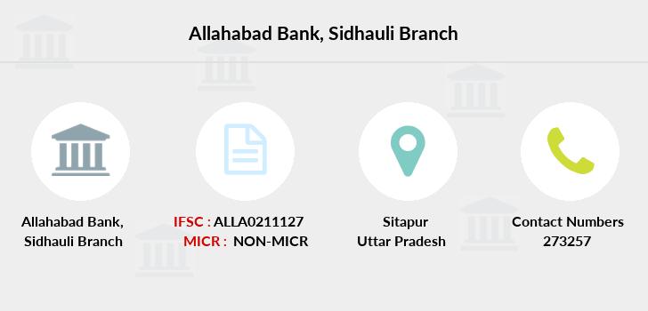 Allahabad-bank Sidhauli branch