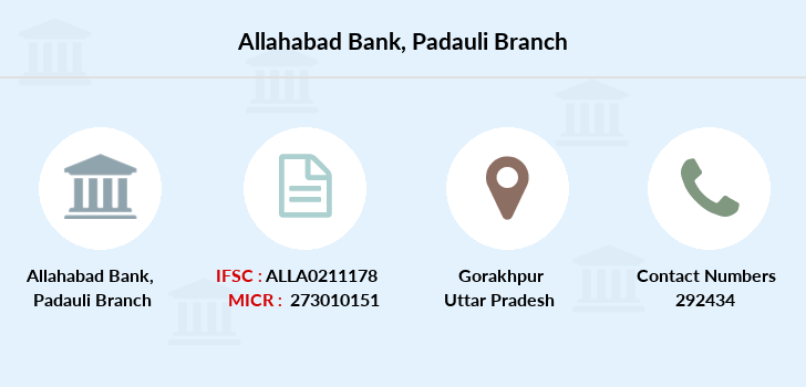 Allahabad-bank Padauli branch