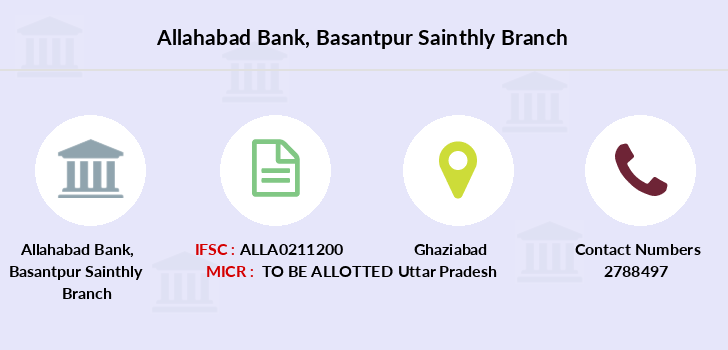 Allahabad-bank Basantpur-sainthly branch
