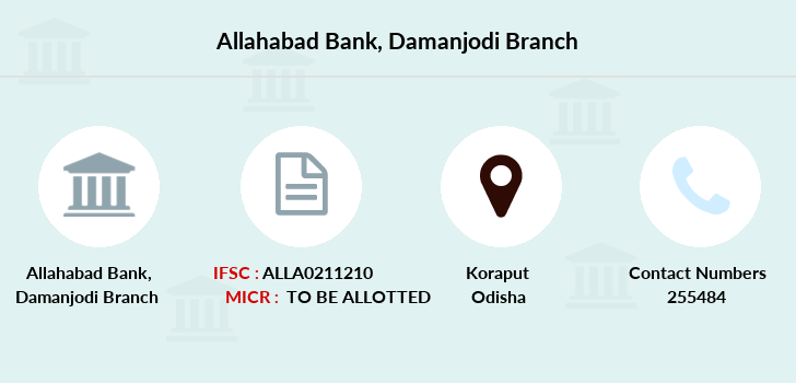 Allahabad-bank Damanjodi branch