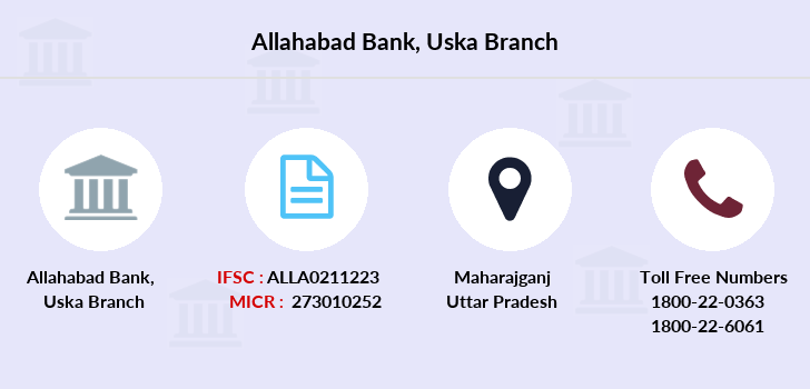 Allahabad-bank Uska branch